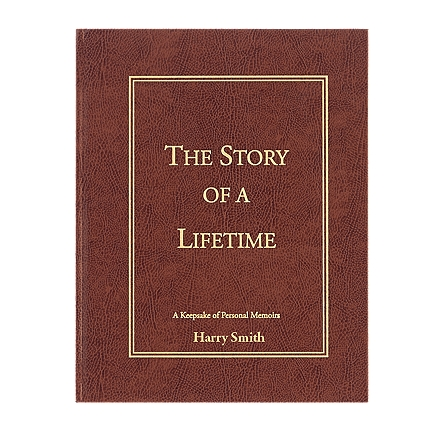 Story of a Lifetime - Personalized Memoir Gift