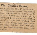 1944 - frank barber visit