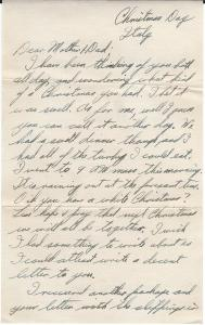 Letter home 1943-12-25 a