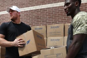 JJ Watt wins Walter Payton Man of the Year Award