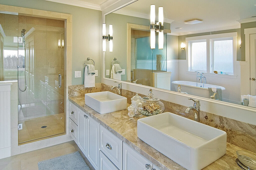 4 types of high end bathroom sinks for