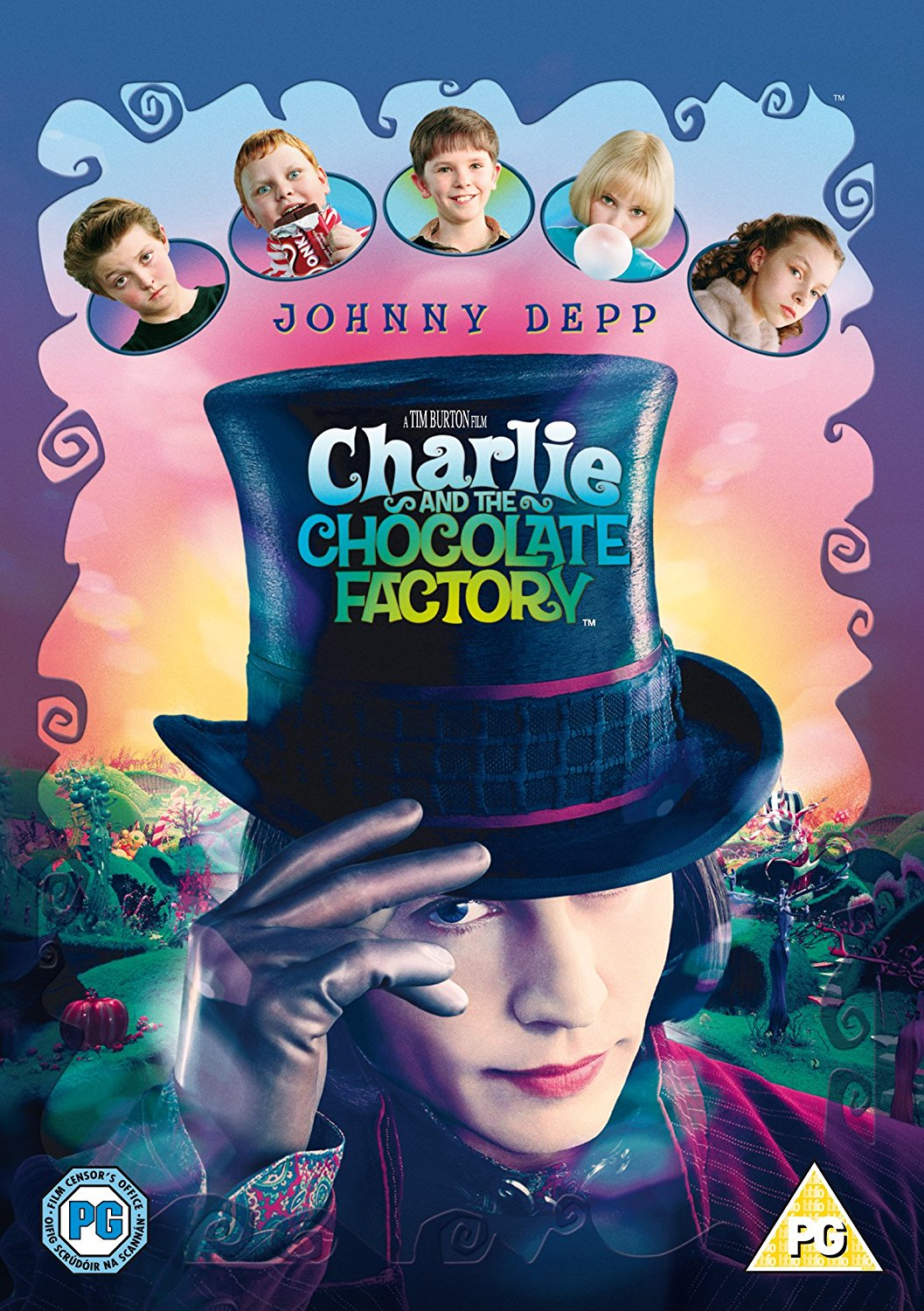 Charlie And The Chocolate Factory Dvd C Pg