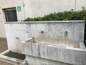 船橋市運動公園の水飲み場