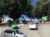the entrance to neverias