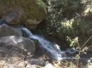 the waterfall-like stream