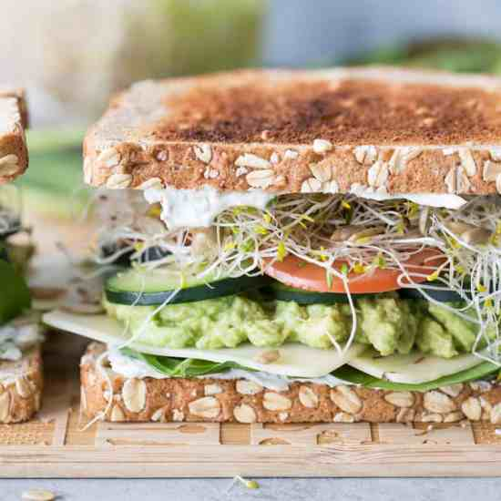 Image result for Ultimate Veggie Sandwich