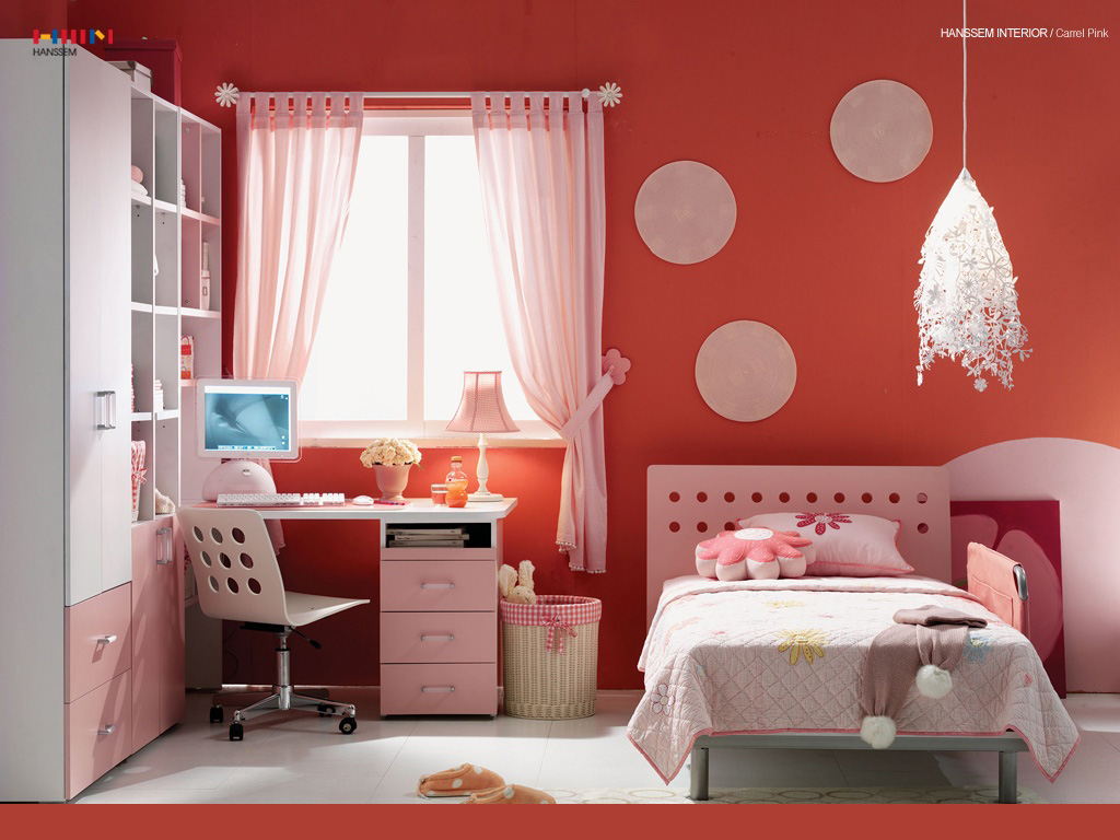 Beautiful Wallpaper: A Pink Room For Your Girl | Free ... on Beautiful Rooms For Girls  id=64900