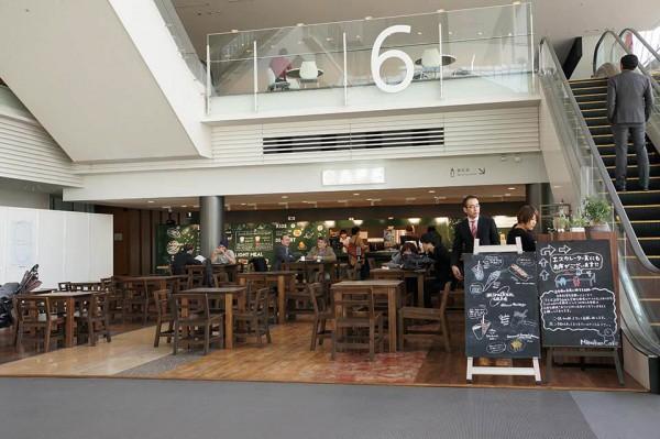 日本科学未来館 5階カフェ