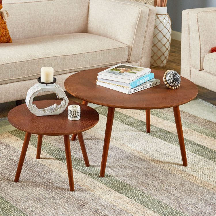 stafford 2 piece coffee table and end table set