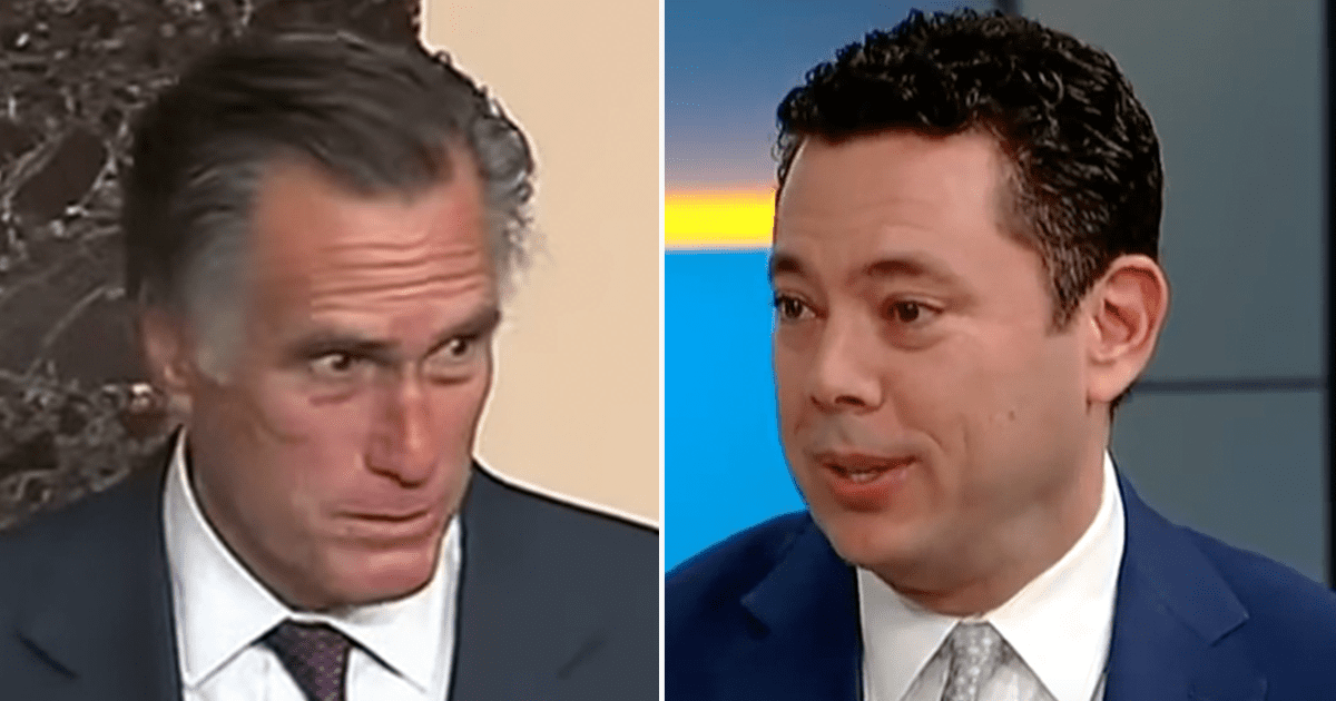 "WATCH: ""Yeah I would"" Chaffetz open to challenging for Romney's Utah Senate Seat"