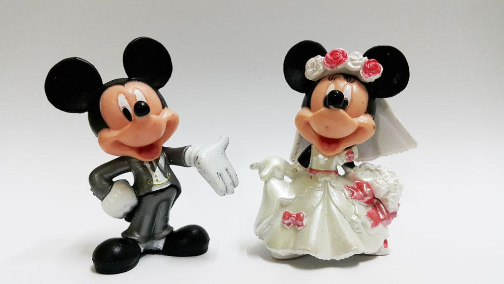 CLEARANCE Mickey Mouse Wedding Figur (end 9/22/2017 8:13 PM