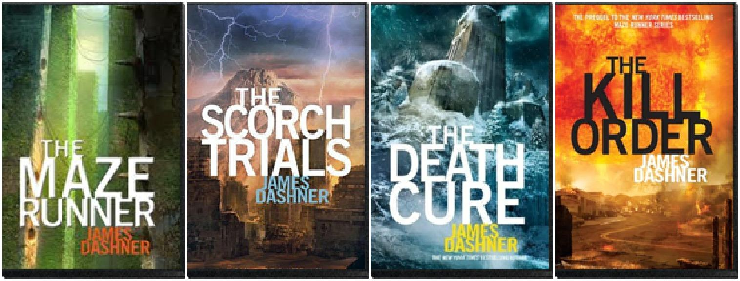 Image result for maze runner books