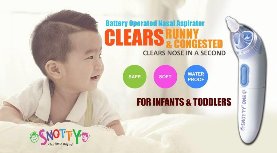 Nasal Suction Battery Infect