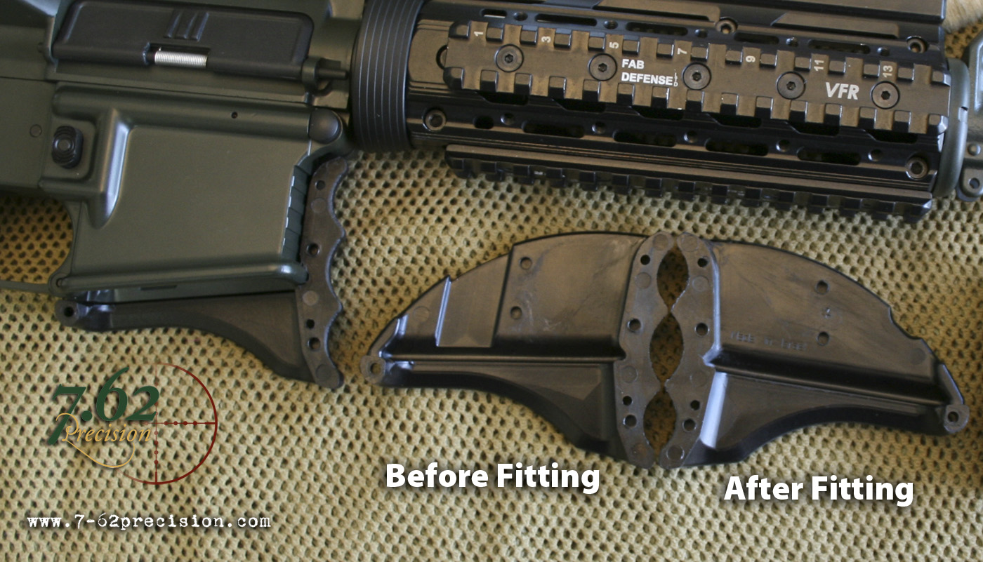 MWG halves comparing unfitted (left) to fitted (right).