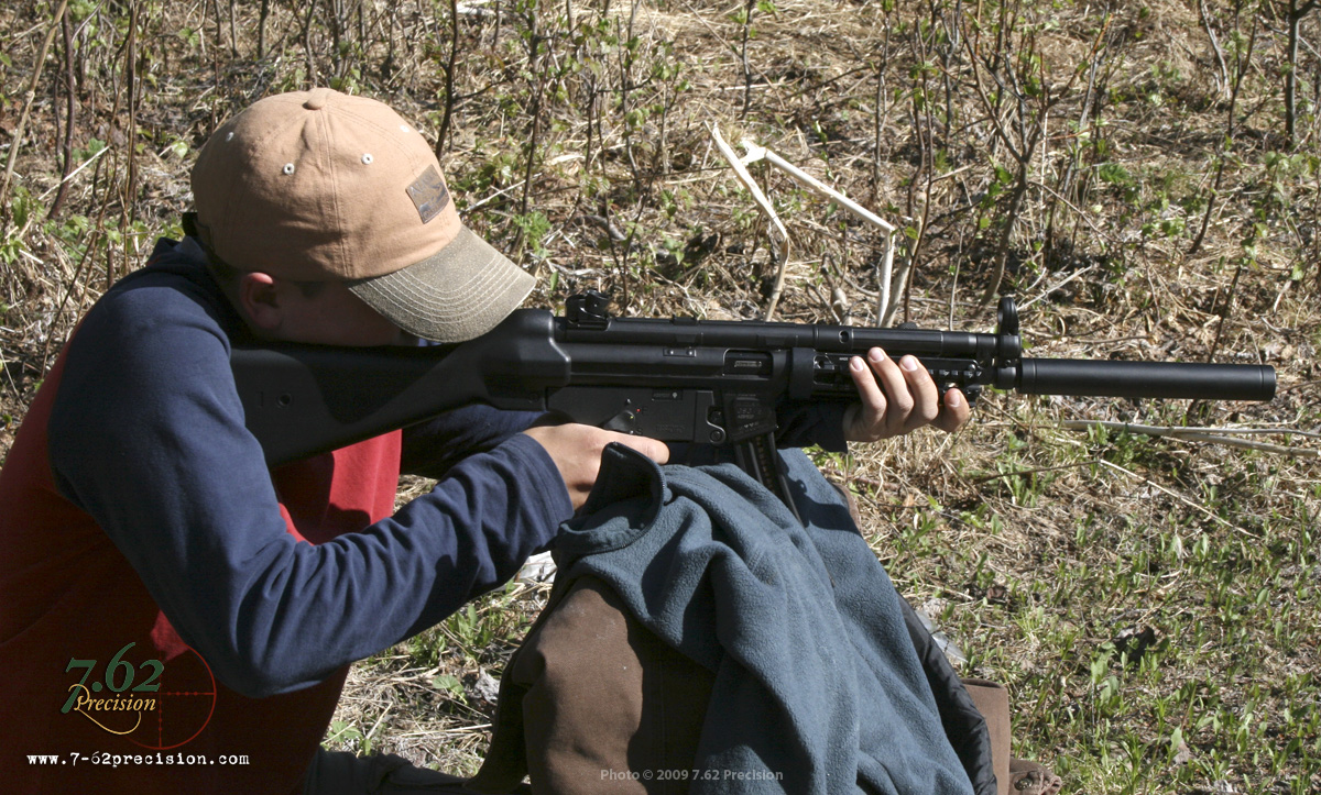 A young friend helps us evaluate an American Tactical Imports GSG-5, a .22 caliber MP-5 clone. The conclusion? The GSG-5 lays down a seriously high volume of fun.