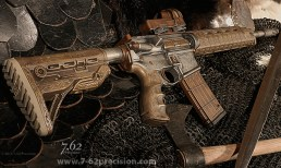 Armor, Axe, and a .50 Beowulf.