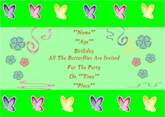 25 free printable butterfly birthday