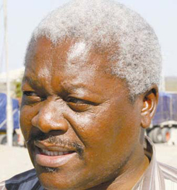 Ignatius Chombo, local minister in Zimbabwe administration (Photo courtesy of NewZimbabwe.com)