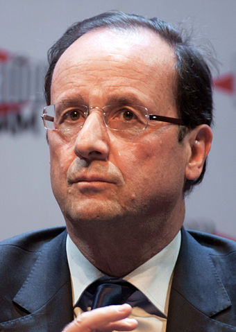 French President François Hollane (Photo courtesy of Wikimedia Commons)