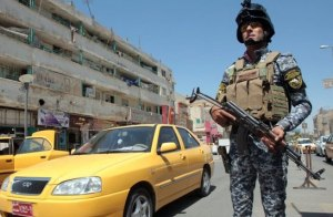 Iraqi checkpoint, a place where gay men say they are in danger. (Photo courtesy of BBC)