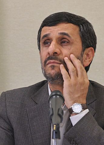 Iran President Mahmoud Ahmadinejad (Photo by Marcello Casal Jr. courtesy of Wikimedia Commons)