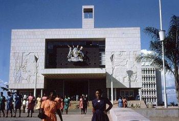 Uganda parliament building
