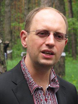 Arseniy Yatsenyuk (Photo by Arsen Yakovenko via Wikimedia Commons)