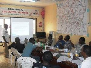 Peer educators' workshop. (Photo courtesy of Eric O. Lembembe)