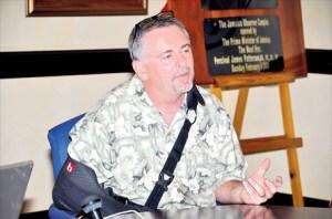 Dennis Jernigan (Photo courtesy of Jamaican Observer)