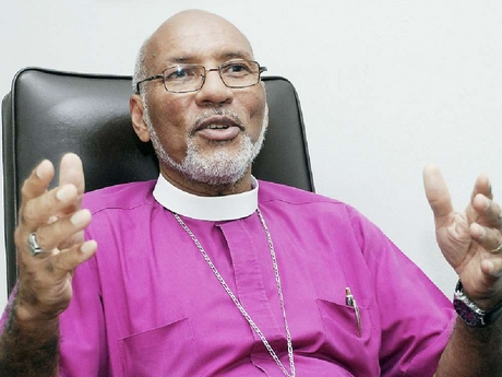 The Rt. Rev. Dr. Howard Gregory, Anglican bishop of Jamaica. (Photo courtesy of the Jamaica Gleaner)