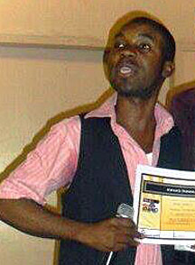 LGBT rights activist Eric Lembembe of Cameroon was murdered in July 2013. (Photo courtesy of Facebook)