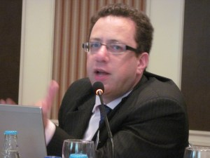 Human rights adviser Claude Cahn of the OHCHR (Photo courtesy of ILGA-Europe)