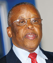 Festus Mogae, who was president of Botswana from 1998 to 2008. (Photo courtesy of United Nations University)