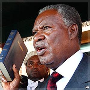 Zambian President Michael Sata (Photo courtesy of VOA.com)