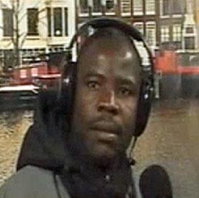 Peterson Ssendi in Amsterdam. (Photo courtesy of YouTube)