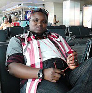 Jay Abang of FARUG (Photo courtesy of World Pulse)