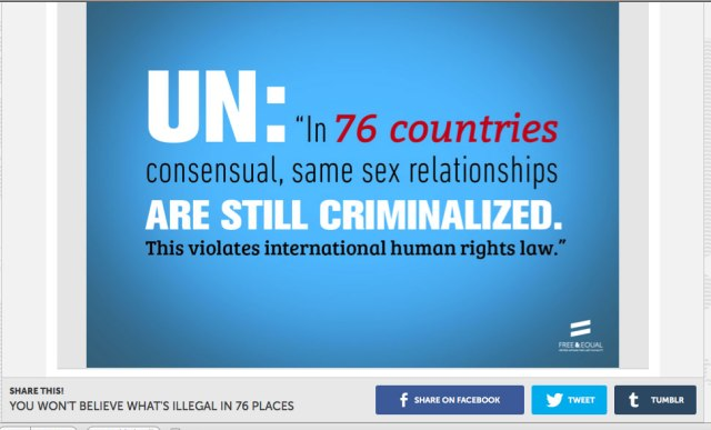 Click on the image to visit the U.N. Free & Equal page, where you can extend the campaign via social media.