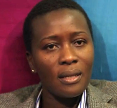 Juliet Mphande, executive director of Friends of Rainka. (Photo courtesy of YouTube)