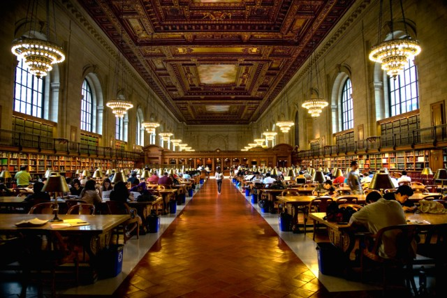 New York Public Library (Photo courtesy Wikipedia)
