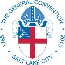 Logo of the General Convention of the Episcopal Church, an event held every three years -- in 2015 in Salt Lake City.