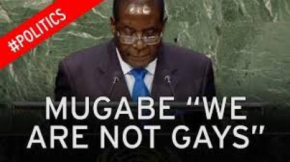Robert Mugabe at the United Nations on Sept. 28, 2015. (Photo courtesy of Mirror.co.uk)