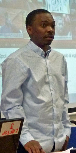 African LGBTI activist Edwin Sesange (Photo courtesy of WorkersLiberty.org)