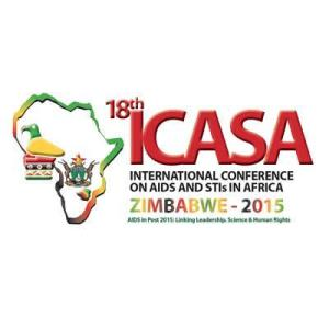 Logo of this year's International Conference on Aids and STIs in Africa.