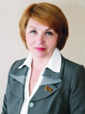 Galina Lazovskaya (Photo courtesy of Belarus House of Representatives)