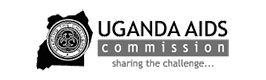 Logo of the Uganda Aids Commission