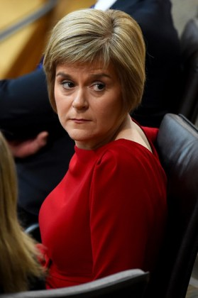 Scotland's First Minister Nicola Sturgeon (Photo courtesy of Zimbio)