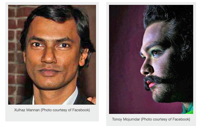 Victims of the anti-gay attack on April 25, 2016, in Bangladesh