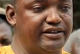 Gambian President Adama Barrow. (Photo courtesy of Mamba Online)