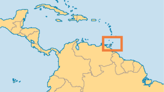 Location of Trinidad and Tobago off the coast of Venezuela. (Map courtesy of Operation World)