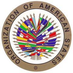 Logo of the Organization of American States (OAS).